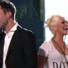 Adam Levin and Christina Aguilera - The Voice 'Moves Like Jagger'