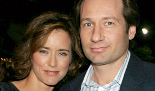 David Duchovny and Tea Leoni SPLIT Again