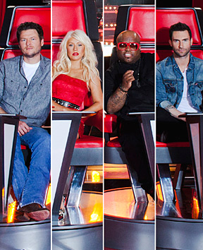'The Voice' ALL 4 Coaches Sign On For Season 2