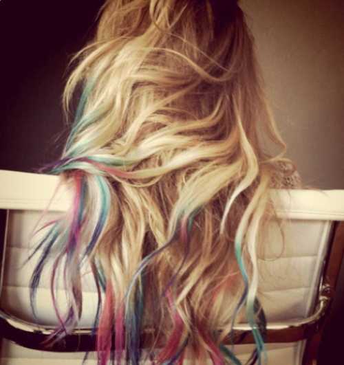 PHOTO: Lauren Conrad Channels Rainbow Brite
