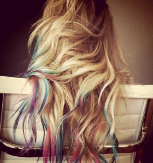 Lauren Conrad Colored Hair