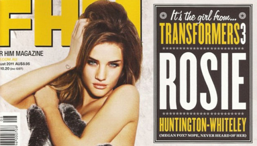 LOOK: Rosie Huntington-Whiteley is 100% Naked For FHM