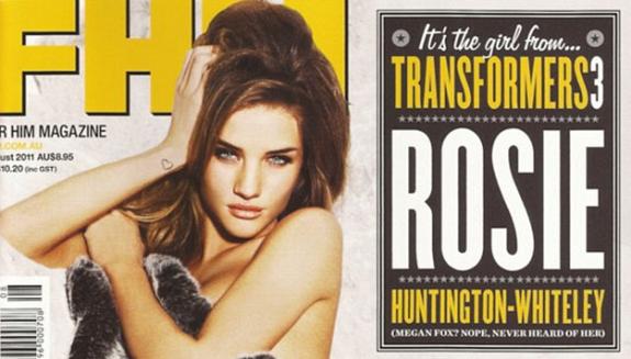 Rosie Huntington-Whiteley FHM Australia