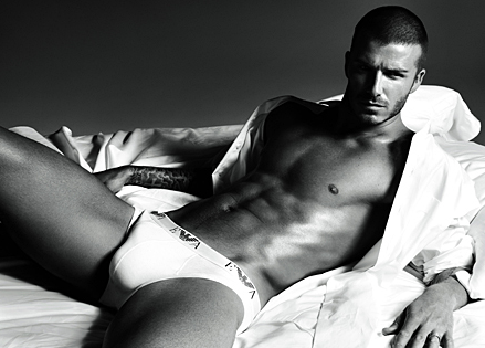 David Beckham Armani Ad