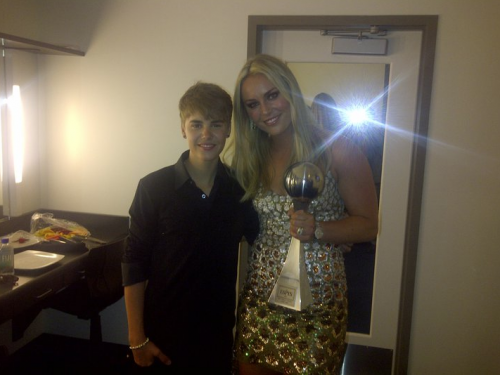 PHOTO: Lindsey Vonn Loves Justin Bieber