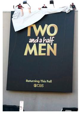 Generic Two and a Half Men BILLBOARD