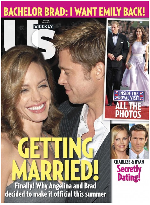 EXCLUSIVE: Us Weekly Magazine Promo For 38¢ An Issue!