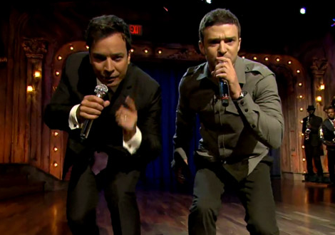 VIDEO: Justin Timberlake and Jimmy Fallon ROCK 'History of Rap 2′