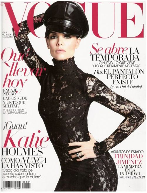 PHOTOS: Katie Holmes is HOT, HOT, HOT on Cover of Vogue España