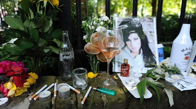 Amy Winehouse Shrine
