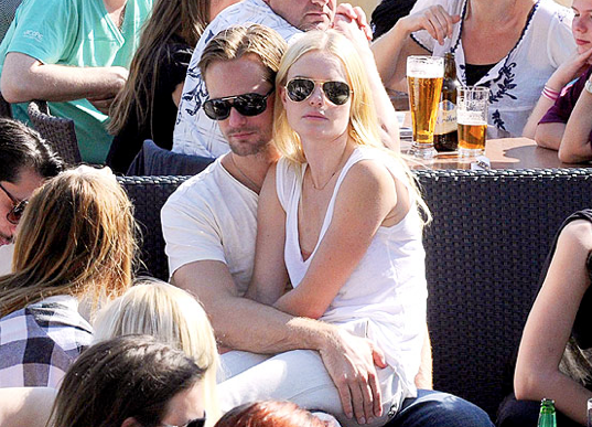 Alexander Skarsgard and Kate Bosworth