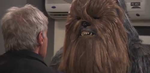 Jimmy Kimmel: Harrison Ford Goes Off On Chewbacca – VIDEO