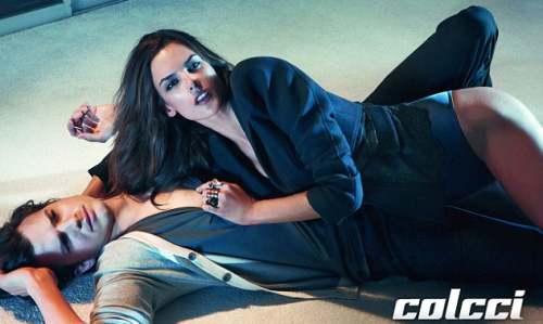 PHOTOS: Ashton Kutcher & Alessandra Ambrosio Sex It Up For Colcci