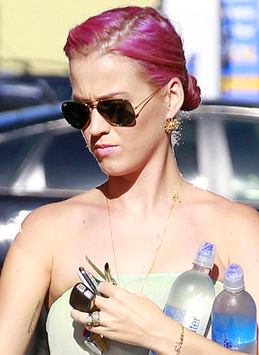 Katy Perry With Pink Hair