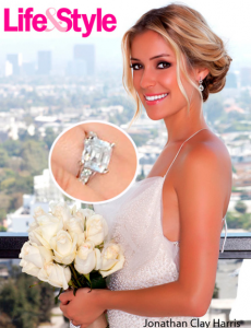 Kristin Cavallari - Wedding Dress and Engagement Ring