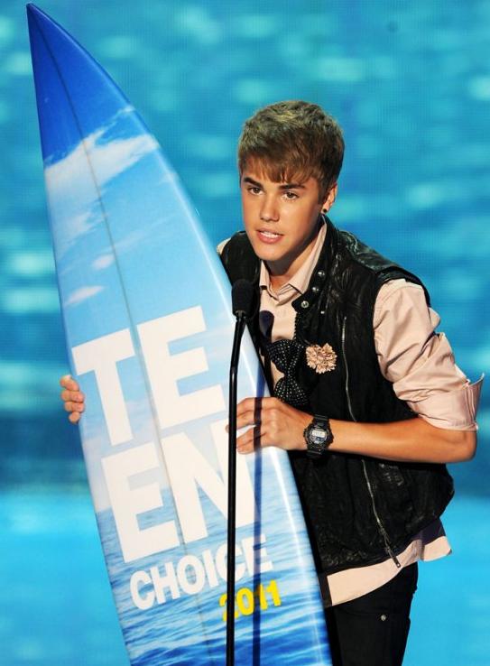 Justin Bieber - 2011 TCAs