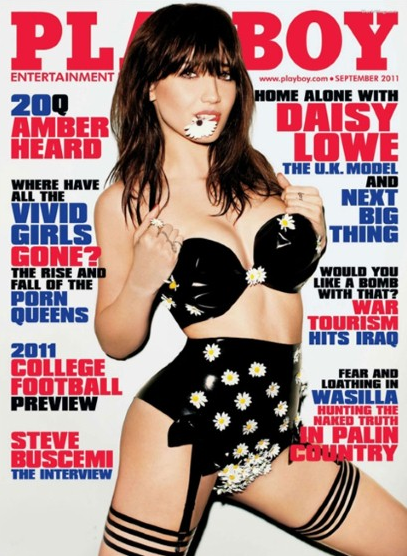 Playboy: Daisy Lowe September 2011 – Full Spread (NSFW)
