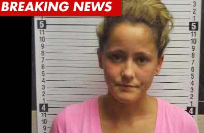 Teen Mom 2 - Jenelle Evans - MUG SHOT