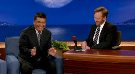 George Lopez and Conan O'Brien