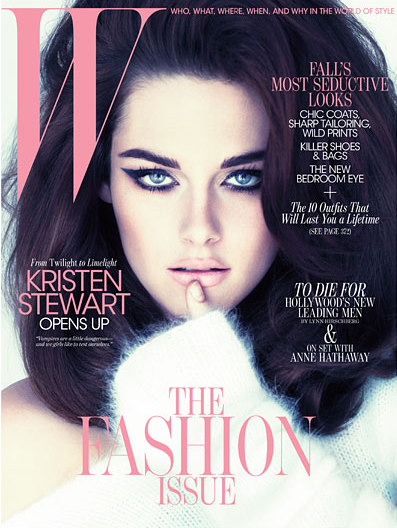 PHOTOS: Kristen Stewart Brings The Bombshell To W Magazine