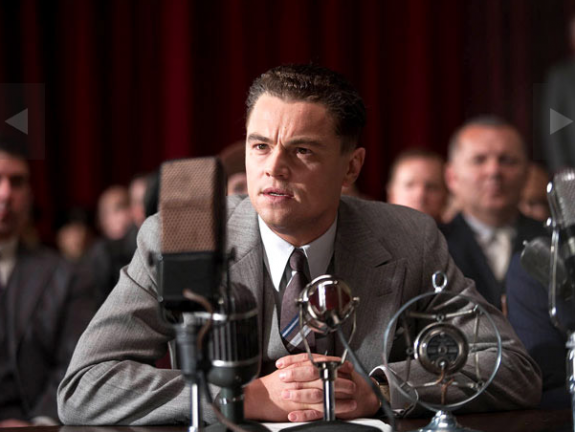 Leonardo DiCaprio as J. Edgar
