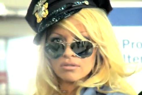 Pamela Anderson - TSA Agent - Peta Video