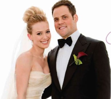 Hilary Duff and MIke Comrie Wedding Photos