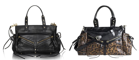 Monica Botkier bag (left) Kardashian bag (right)