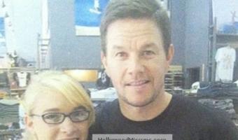 EXCLUSIVE PHOTO: Mark Wahlberg Rocks His Hello Kitty Skateboard