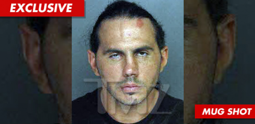 LOOK: The Matt Hardy Mug Shot Is ALL WRONG