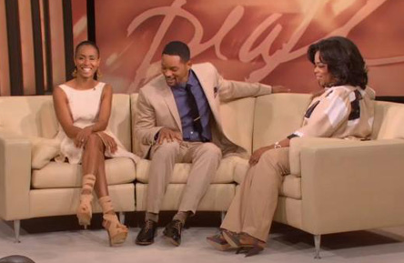 Will Smith and Jada Pinkett Smith on Oprah