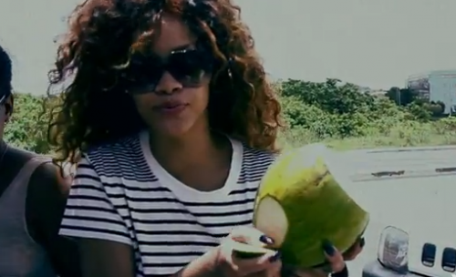 Rihanna 'Cheers (Drink To That)' Official Music Video