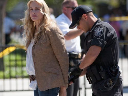 PHOTO: Daryl Hannah Was Just ARRESTED at The White House