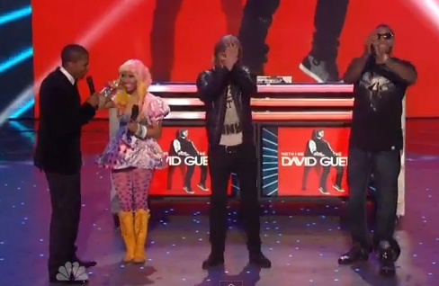 VIDEO: Nicki Minaj, David Guetta, & Flo Rida ROCK 'Where Them Girls At'