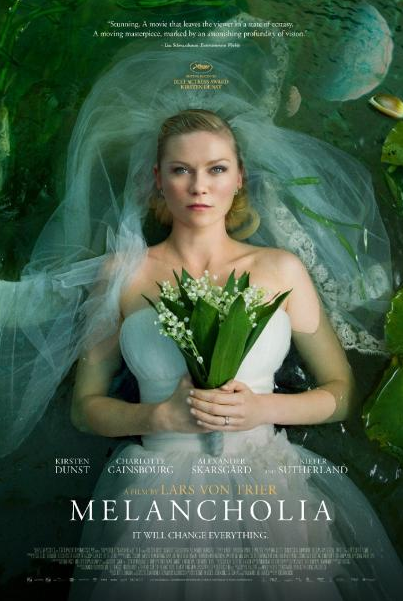 Kirsten Dunst - Melancholia - Movie Poster