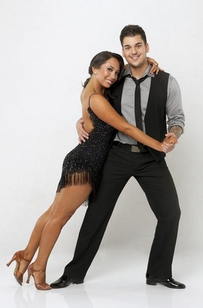 2011 Dancing With The Stars 13 Cast Photos - Rob Kardashian and Cheryl Burke
