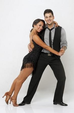 2011 Dancing With The Stars 13 Cast Photos - Rob Kardashian and Cheryl Burke