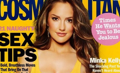 Minka Kelly - Cosmo - Sept 2011 Cover