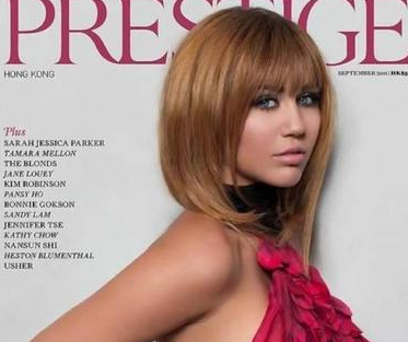 Miley Cyrus - Prestige Mag Cover