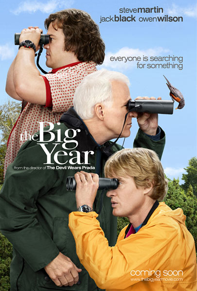 Star Studded 'The Big Year' Trailer Has Arrived