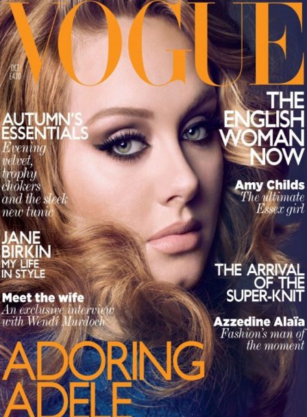 PHOTOS: Adele ROCKS Vogue UK