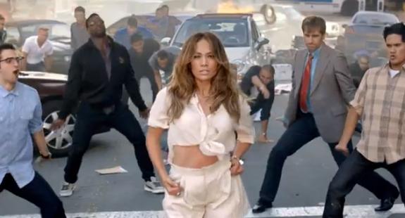 Jennifer Lopez - FIAT Commercial - Papi