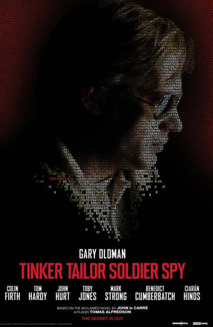 Tom Hardy - Tinker Tailor, Soldier, Spy - POSTER