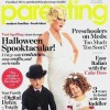 Tori Spelling and Family Halloween Shoot for Parenting Magazine - COVER