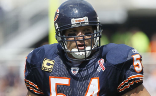 Chicago Bears: Brian Urlacher Mother Dies Suddenly