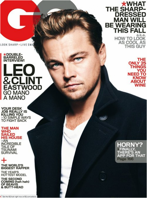 PHOTOS: Leonardo DiCaprio is YUMMY For GQ &#8211; October 2011