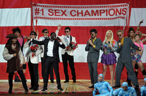 WATCH: Star Studded 'Lonely Island' Emmys Performance is HILARIOUS!