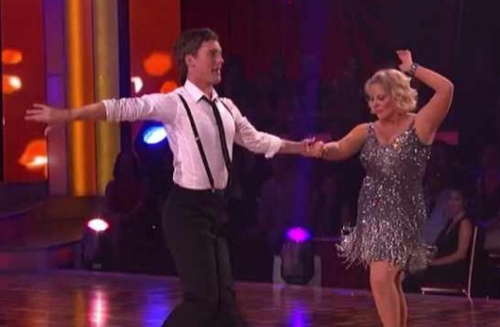 Dancing With The Stars – Nancy Grace is LOADED With Energy! – Cha Cha Cha VIDEO