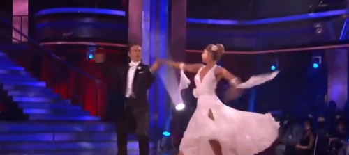 Dancing With The Stars – David Arquette Was Fab Doing The Viennese Waltz – VIDEO