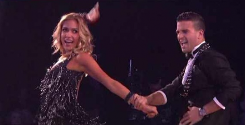 Dancing With The Stars &#8211; Kristin Cavallari ROCKS The Cha Cha Cha &#8211; VIDEO